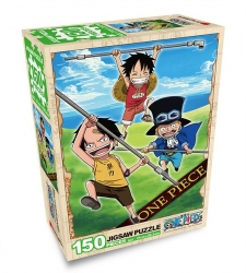 One Piece Jigsaw Puzzle 150 Pieces, Sabo Ace Luffy
