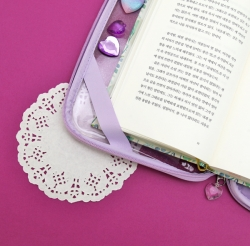 Moonlight Twinkle Book Pouch